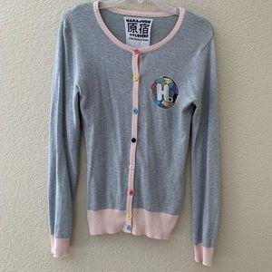 Gwen Stefani Harajuku Lovers Cardigan SweaterS